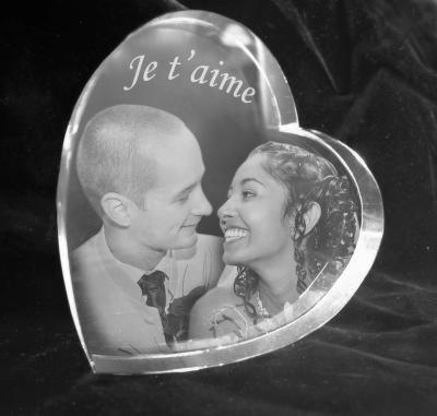 Glazen hart 2d 7x85x2 cm €79,00