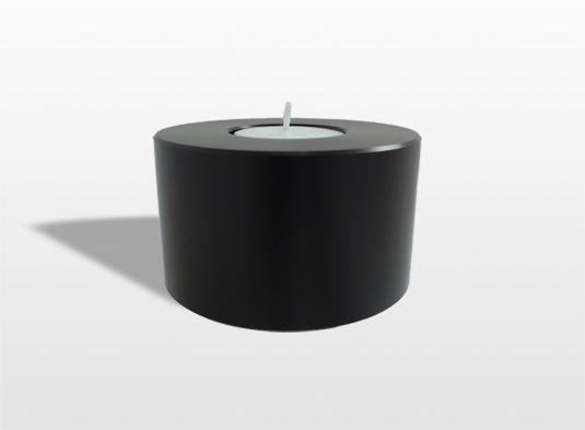 urn-aluminium-geanodiseerd-kleur-zwart-met-asruimte-en-waxinelicht-9-rond-x-5-hoog-cm-inhoud-005-liter-_-6000