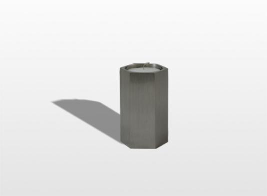 urn-candle-zeskant-met-waxinelicht-dik-45-x-8-cm-hoog-inhoud-005-liter-_-8000